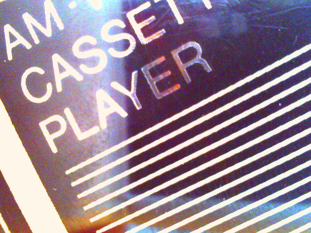 personal cassette player